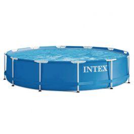 Intex metal frame pool 366 cm for Pool selbstaufstellend
