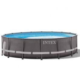 intex ultra frame pool 488 cm. Black Bedroom Furniture Sets. Home Design Ideas
