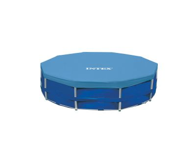Intex afdekzeil metal frame pool 366 cm for Intex mini frame pool afdekzeil