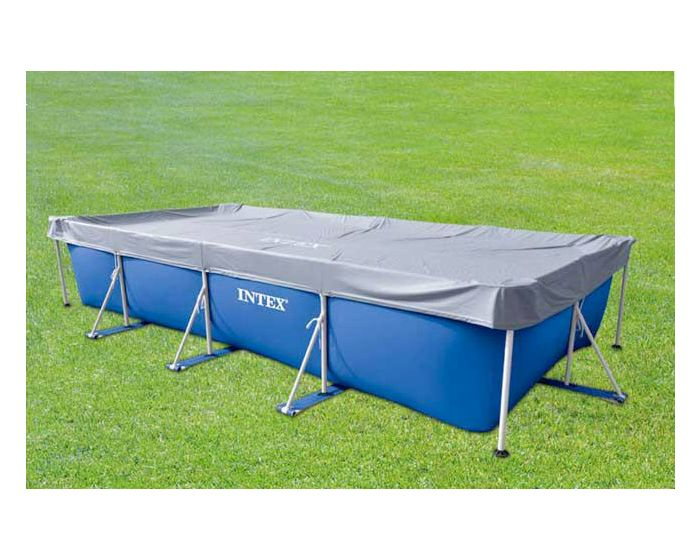 Intex afdekzeil frame pool 450 x 220 cm 400 x 200 cm for Intex mini frame pool afdekzeil