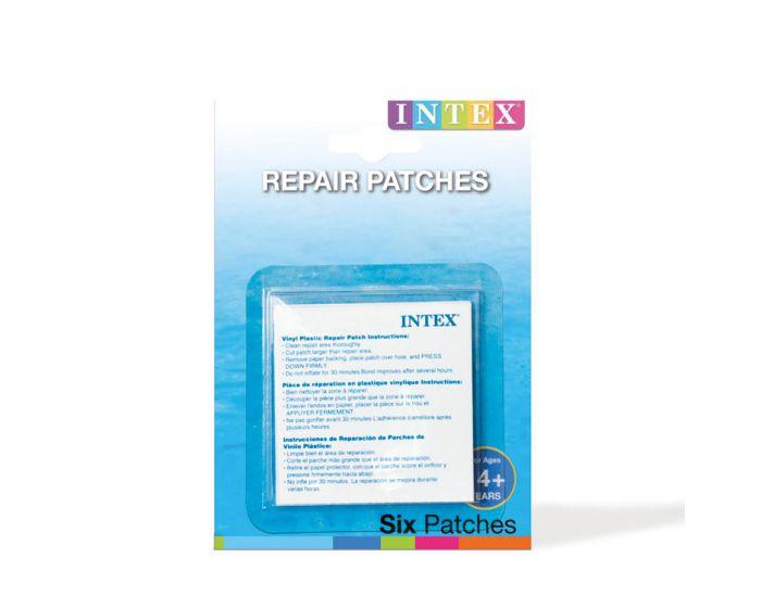 INTEX™ reparatieset - 6 zelfklevende reparatievellen