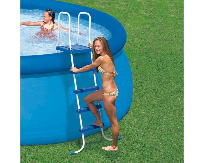 INTEX™ ladder zwembad (132 cm)