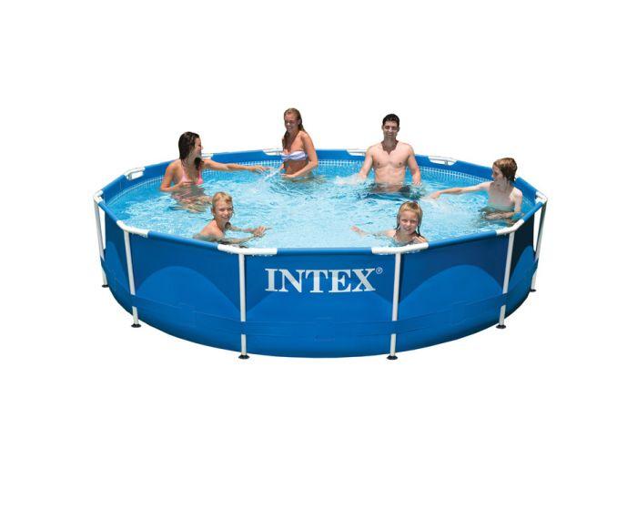 INTEX™ Metal Frame Zwembad - Ø 366 cm