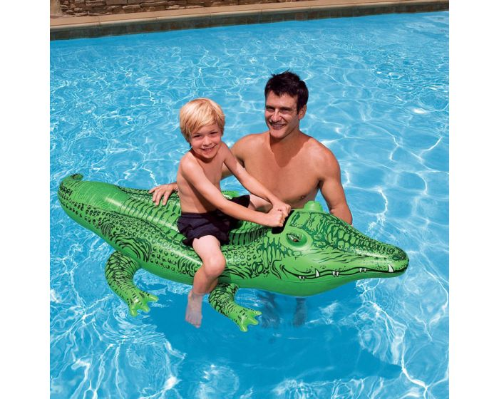 INTEX™ opblaasbare Krokodil