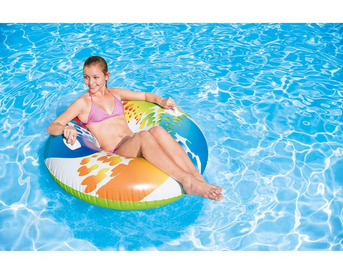 INTEX™ zwemband - Color Whirl (Ø 122 cm)
