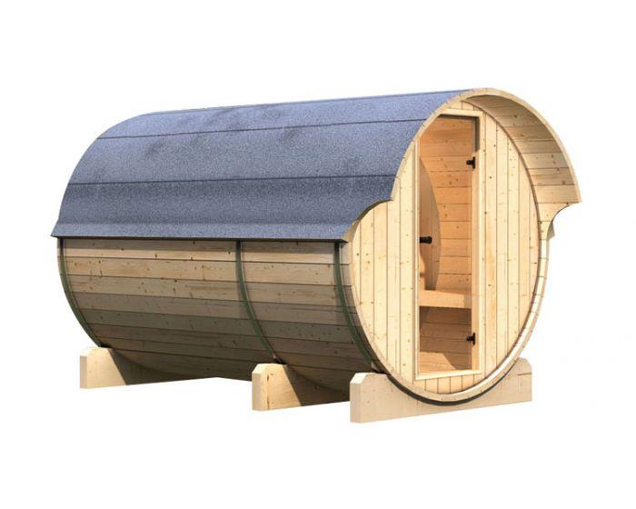 Interline Kotka 3 sauna set 205x285x216
