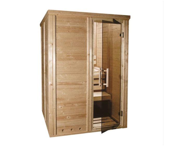 Sauna Salla 2-pers. 147x147x209 cm