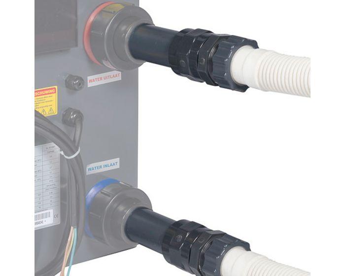 Koppelingsset warmtepomp Ø 50-38 mm