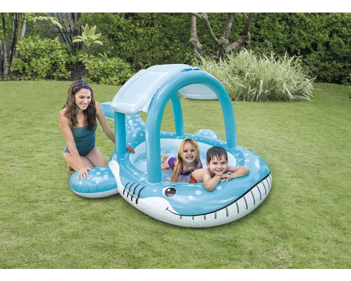 Intex whale shade pool kinderzwembad