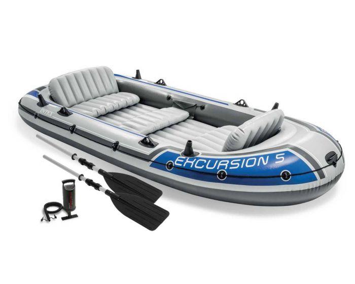 INTEX™ Opblaasboot - Excursion 5 Set
