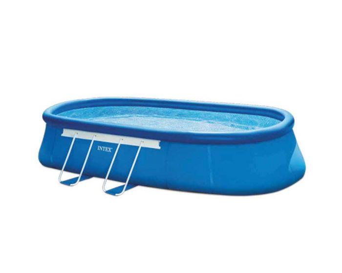 INTEX™ Oval Frame Pool - 610 x 366 cm (set)