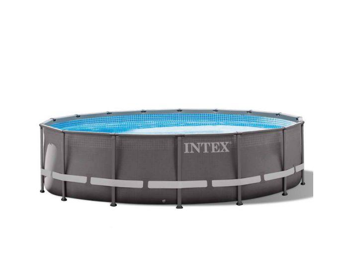 INTEX™ Ultra Frame Zwembad Ø 488 cm (set incl. zandfilterpomp)