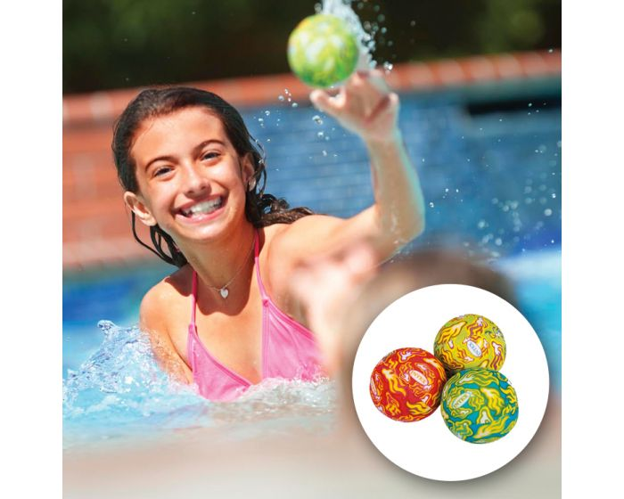 INTEX™ waterspeelgoed: set van 3 absorberende ballen