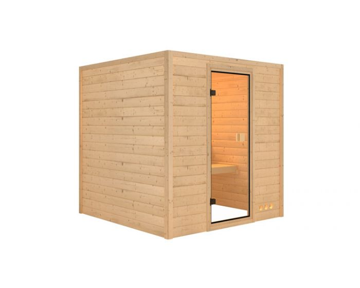 Interline Lemi sauna set 200x200x200