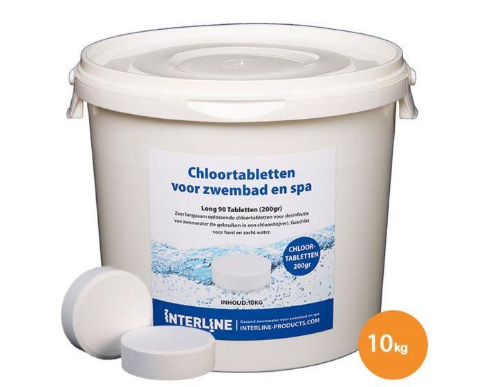 Chloortabletten 10kg/200gr.