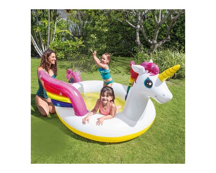 INTEX™ mystic unicorn spray pool kinder zwembad