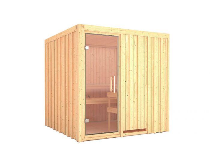 Interline Tolja sauna set 200x200x200