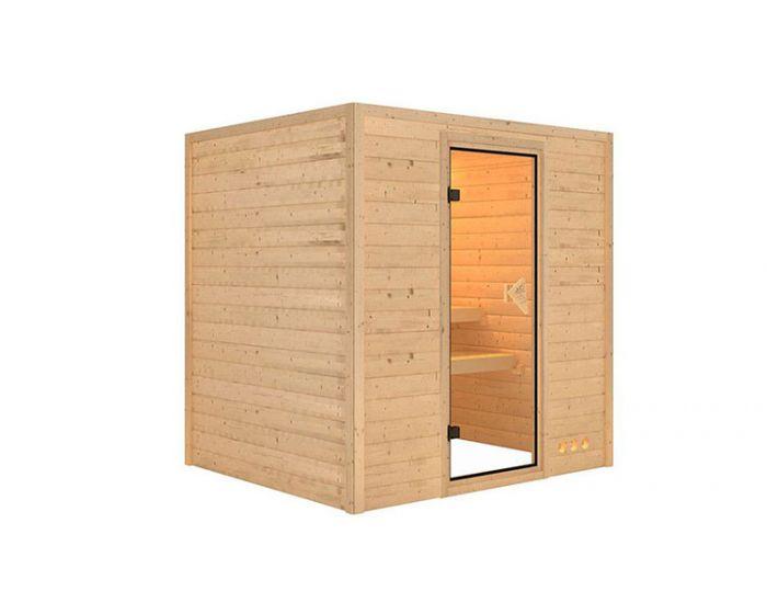 Interline Lieto sauna set 196x170x198