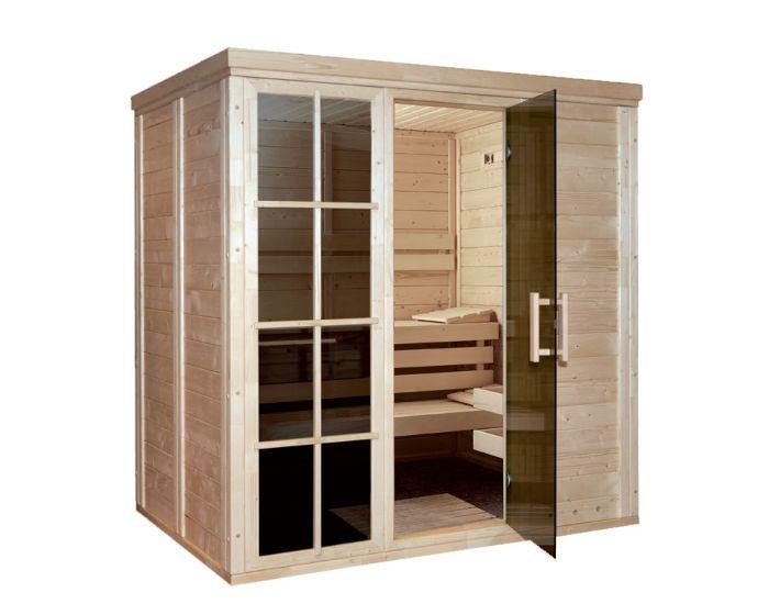 Sauna Salla 4 (3-4 personen) 207x207x210 cm
