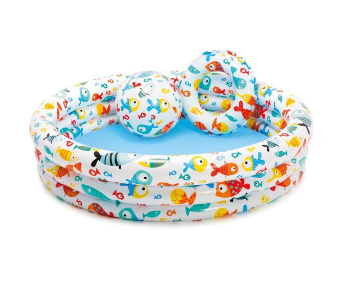 INTEX™ kinderzwembad - Fishbowl pool set
