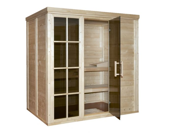 Sauna Salla 3 (2-3 personen) 207x146x210 cm