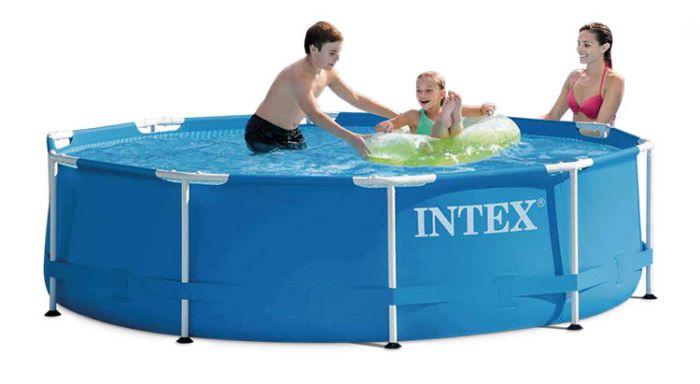 8e29e8a81a01f3 INTEX Metal Frame - Ø 305 cm   Top Zwembadshop