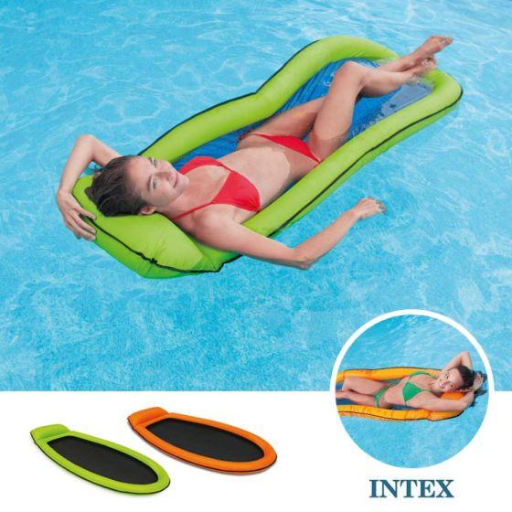 De Beste Luchtbedden.Intex Luchtbed Mesh Lounge Waterhangmat Top Zwembadshop Nl
