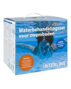 Interline starterset zwembadreiniging - Large: zwembaden tot 15.000 liter