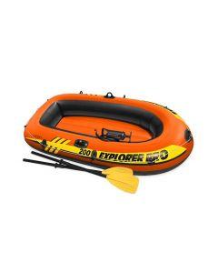 Opblaasboot INTEX™ Explorer Pro 200 (incl. peddels & pomp)