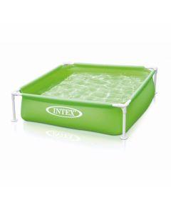 INTEX™ kinderzwembad - Mini Frame Pool - groen (122 x 122 cm)