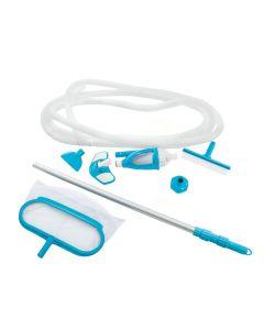 INTEX™ schoonmaakset zwembad Deluxe - Ø 29,8 mm aansluiting (incl. steel)