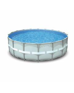 Intex opzetzwembad alle frame zwembaden for Zwembad vierkant intex