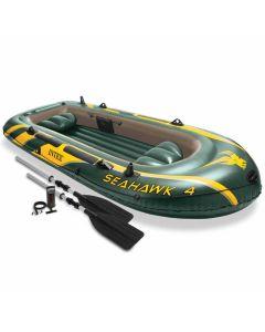 Opblaasboot Intex - Seahawk 4 Set (incl. peddels & pomp)