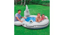 INTEX™ kinderzwembad - Sandy Shark (229 x 226 cm)