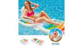 INTEX™ luchtbed / loungestoel zwembad - Opvouwbaar