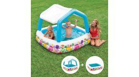 INTEX™ kinderzwembad - Sun Shade Pool met afneembaar dak (157 x 157 cm)