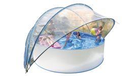 Zwembad solartent