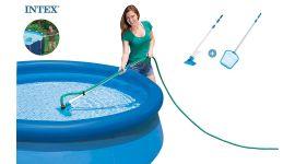 INTEX™ schoonmaakset zwembad - aansluiting Ø 26,2 mm (incl. steel)