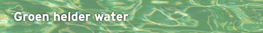 Advies groen zwembadwater