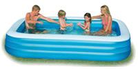 Zwembad tuin opblaasbaar