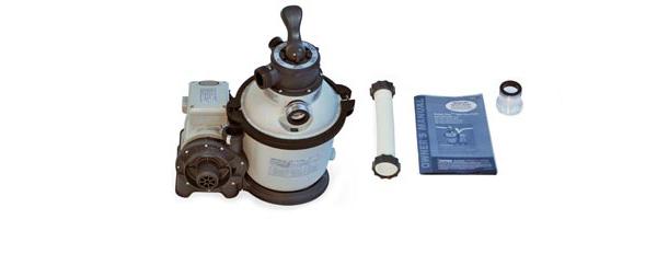 Intex Filtre à sable 4m3/h - Content du colis